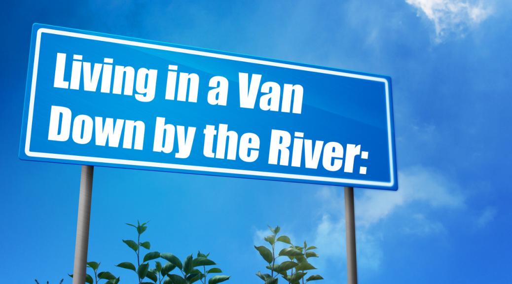 Live in van sign