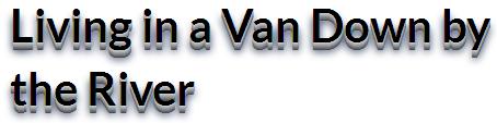 Living in Van
